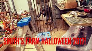 spirit halloween sacramento smith u0027s farm halloween 2017 not fully set up youtube
