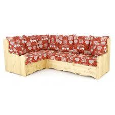 canapé en pin canapé d angle pin massif coussins canapé d angle pin avec