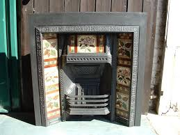 outstanding small dark steel fireplace restoration with fetchig