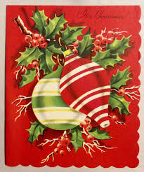 lovely old fashion striped ornaments 1950 u0027s vintage christmas