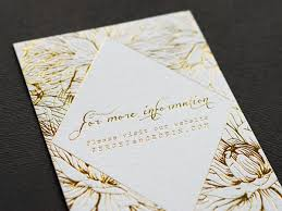 wedding invitations gold foil floral and gold foil wedding invitations