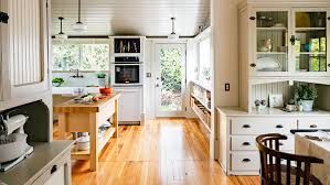 how to design a vintage modern kitchen sunset