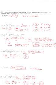 dr schechter u0027s calculus classes fall 2010