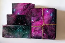 galaxy wrapping paper oversize roll pink galaxy wrapping paper nebula gift wrap galaxy