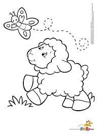 sheep coloring page olegandreev me