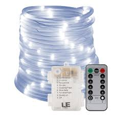 33ft dimmable led light daylight white christmas outdoor
