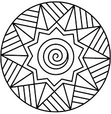 inspiring design kids mandala coloring pages free printable