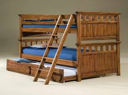 Solid Wood Bunk Beds With Storage White Polished Solid Wood Bunk Bed With Storage And Desk Also