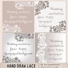 lace frame illustrations creative market