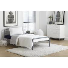 home styles visions silver gold champagne king bed frame 5576 600