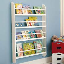 Wall Mount Book Shelves Terrific Wall Mounted Bookshelves Kids Set Window With Wall