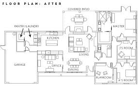 renovation floor plans before and after renovation project home remodel floor plan