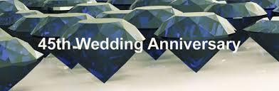 45th wedding anniversary 45th wedding anniversary occasions ernest jones