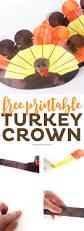 thanksgiving pics free free printable thanksgiving turkey crowns printable crush