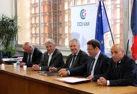 chambre de commerce et d industrie du var partenariat cci comcom dynamiser les zones d activité var matin