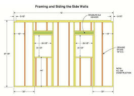 wall blueprints 10 12 storage shed plans blueprints for constructing a beautiful