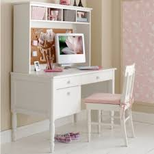 Wood Computer Desk With Hutch Foter by Kids White Desk With Hutch Foter Intended For Modern Home Girls