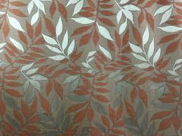 Roman Upholstery Terracotta Leaves Floral Home Decor Italian High End Designer