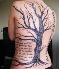 dead tree meaning dead tree tattoos designs ideas and meaning