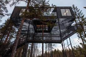 tree hotel sweden 7th room canopy stars
