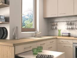 cuisine avec plan de travail en bois cuisine grise plan de travail bois avec cuisine grise plan de