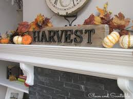 fall home tour clean and scentsible