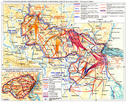 Battle Of Kursk Map сталинградская битва Battle Of Stalingrad Map Red Army