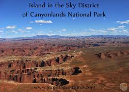 Canyonlands National Park Map 51 Cent Adventures Island In The Sky District Of Canyonlands