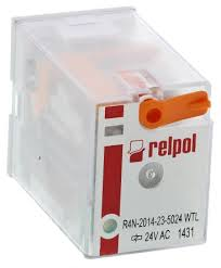 r4n 2014 23 5024 wtl relpol 4pdt plug in non latching relay 24v