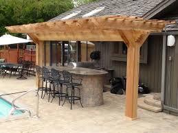 10 X 20 Pergola Kit by Pergola Arbors Outdoor Kitchen Western Red Cedar Pergolas