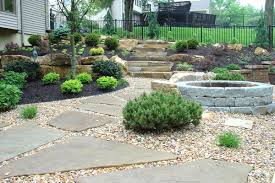 front yard landscape ideas using rocks the garden inspirations