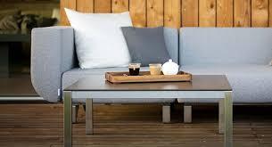 canapé de luxe canapé de luxe 2 places en inox brossé et tissu lotos