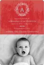 baby announcement wording christmas birth announcement wording ideas sles