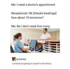 Doctor Appointment Meme - this is how girls apologize meme xyz