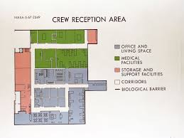 artist u0027s concept of layout of the crew reception area in the lrl