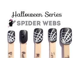 halloween spider web nails the crafty ninja