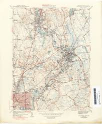 map of ma and ri massachusetts historical topographic maps perry castañeda map