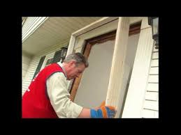 How To Replace Exterior Door Frame How To Install A Pre Hung Exterior Door