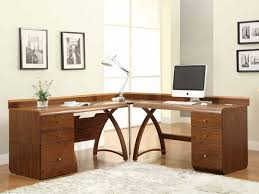 Curved Office Desk by Walnut Curved 1300 Office Desk With Storage Furniture4yourhome