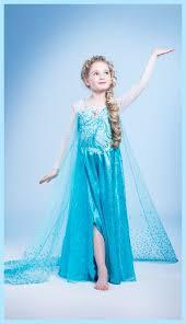 Halloween Elsa Costume 2014 Halloween Disney Frozen Elsa Costume Princess Hairstyle