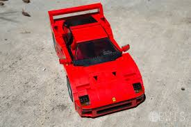 lego ferrari f40 the lego ferrari f40 is a masterpiece review lewis leong