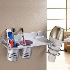 bathroom hair dryer storage