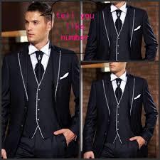 2015 handsome new fashion men u0027s suit black men business dress