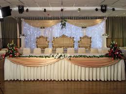 wedding reception head table designs happily ever after u003c3