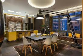Dining Room Table Lamps - 5 floor lamps inspirations from restaurant design projects