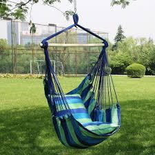 garden hanging seat tree hammock camp porch swing chair camping