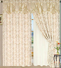 Sheer Embroidered Curtains Embroidered Lined Curtains Ebay