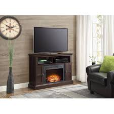 decor flame electric fireplace for tvs up to 60