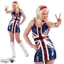 Ginger Spice Halloween Costume Baby Spice Fancy Dress Ebay