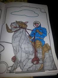 han solo coloring book